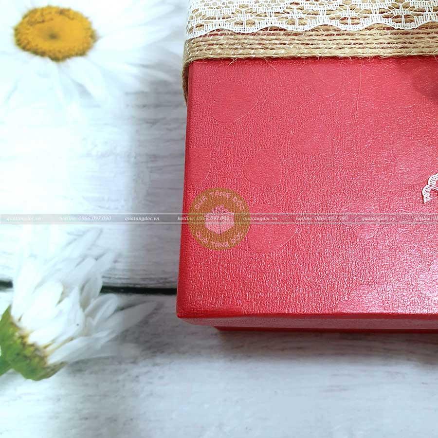 Hộp quà tặng đẹp HQ01 - Kích thước 23x17x7
