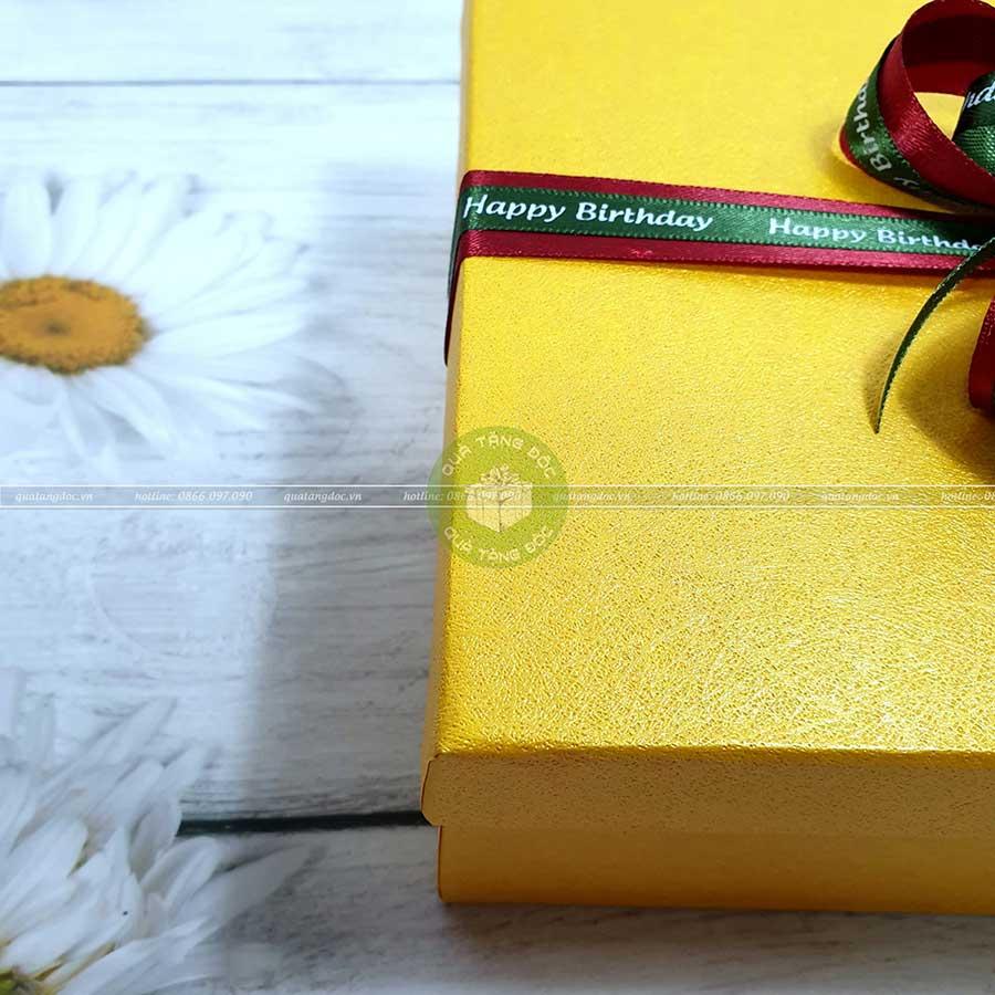 Hộp quà tặng sinh nhật HQ06 - Kích thước 23x17x7