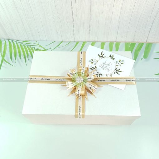Hộp quà tặng chữ nhật size to 30x20x10cm – HQ03