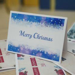 TM28 - Thiệp mừng giáng sinh Merry Chrismas