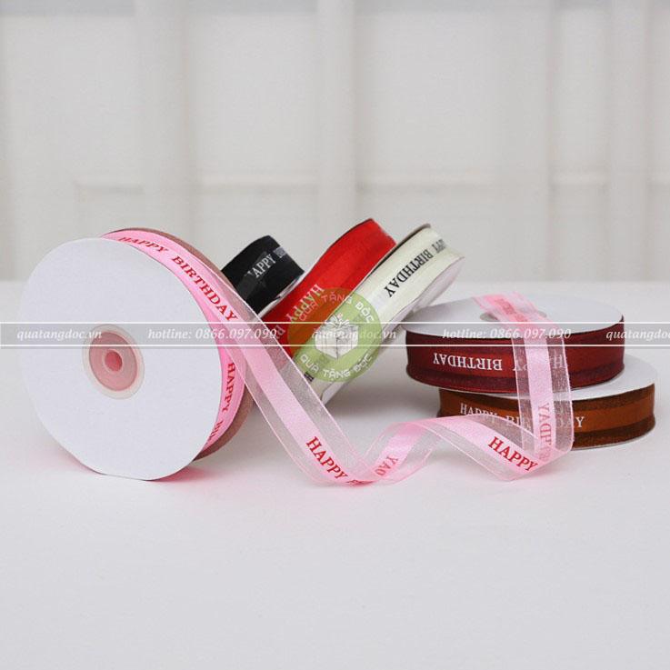 3+ cách sử dụng ruy băng gói quà đẹp hút hồn