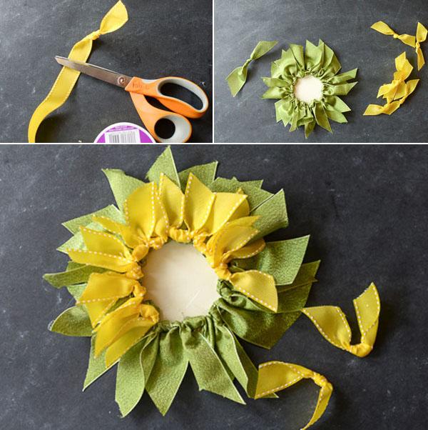 Tạo hình hoa hướng dương