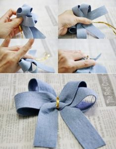 Tổng hợp những cách thắt nơ ruy băng đẹp, dễ thực hiện