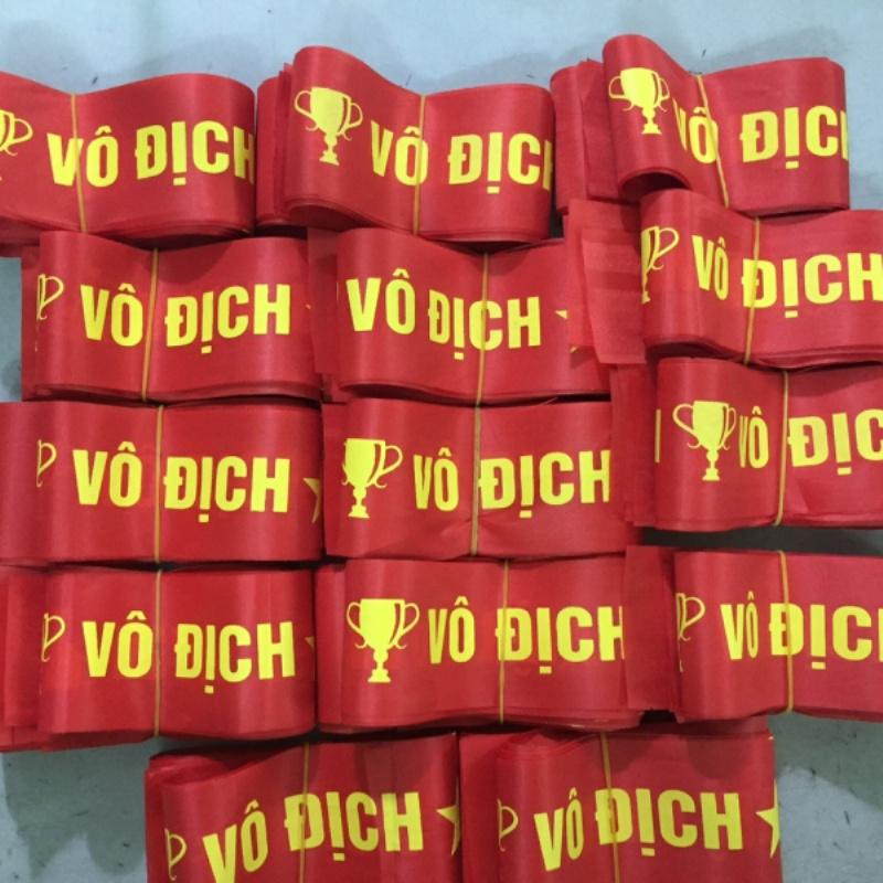 In ruy băng đội đầu cổ vũ bóng đá ở đâu tại Hà Nội ?