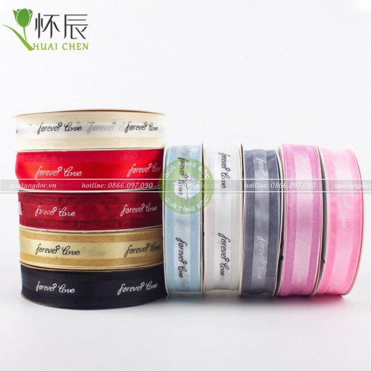 Ruy băng lụa mua ở đâu giá rẻ, chất lượng tại Hà Nội ?
